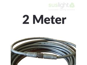 Foto van 2 Meter - Q-S Connect 2 Aderig Stroomkabels 24V