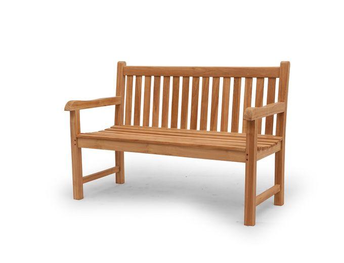 Afbeelding van Teak houten bank Boris