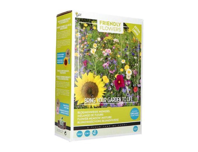 Afbeelding van Buzzy® Friendly Flowers XL Bloemenweide 50m²