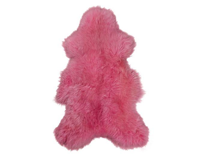 Afbeelding van Texels Schapenvacht Gekleurd – Fuchsia roze XL