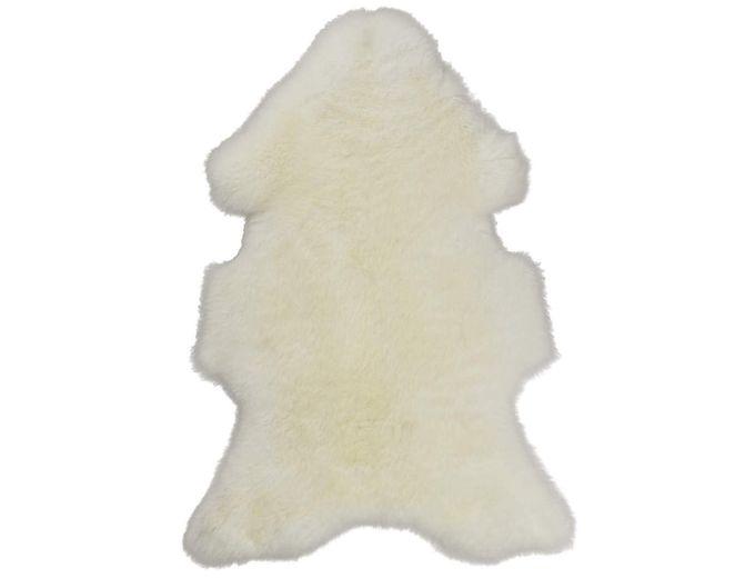 Afbeelding van Texels Schapenvacht Wit – Naturel L 90-100 cm