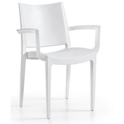 Tuinstoel Annelies armchair white