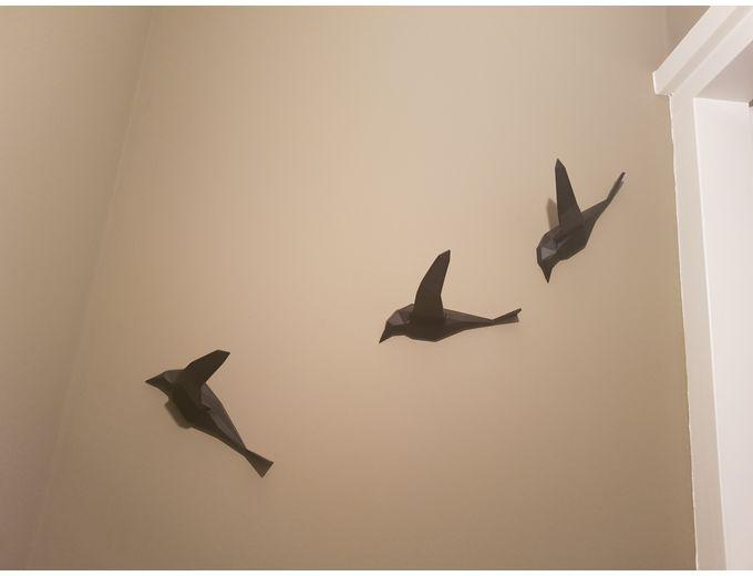 Afbeelding van Vogels (per set van 3 stuks)