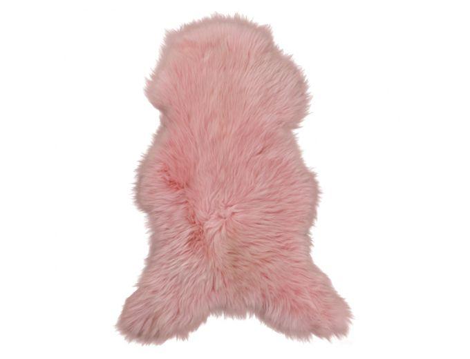 Afbeelding van Texels Schapenvacht Gekleurd – Oud roze XL