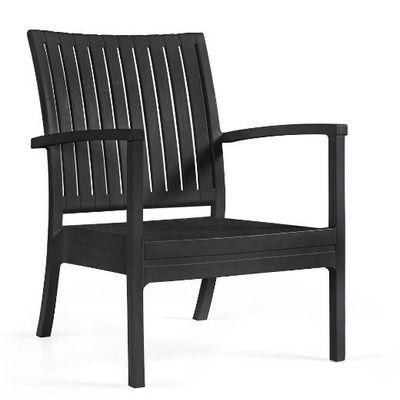 Foto van Tuinstoel Bram low chair zwart