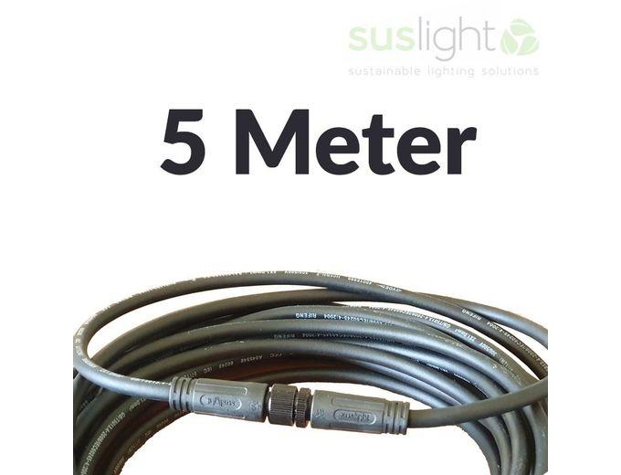Afbeelding van 5 Meter - Q-S Connect 2 Aderig Stroomkabels 24V