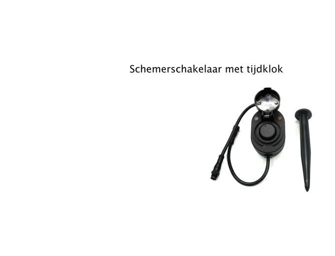 Afbeelding van Q-S Connect Schemerschakelaar + Tijdklok 24V