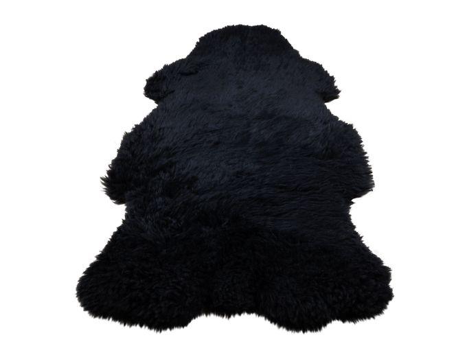 Afbeelding van Texels Schapenvacht Zwart – gekleurd XL 100-110 cm