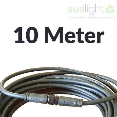 10 Meter - Q-S Connect 2 Aderig Stroomkabels 24V