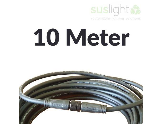 Afbeelding van 10 Meter - Q-S Connect 2 Aderig Stroomkabels 24V