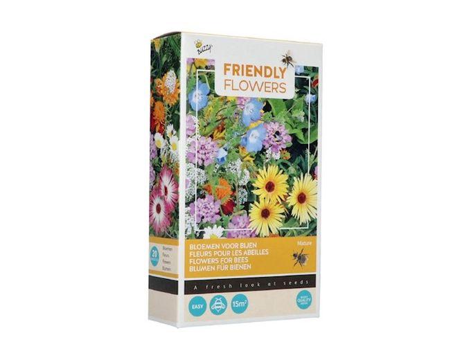 Afbeelding van Buzzy® Friendly Flowers Bijen Laag 15m² (16)