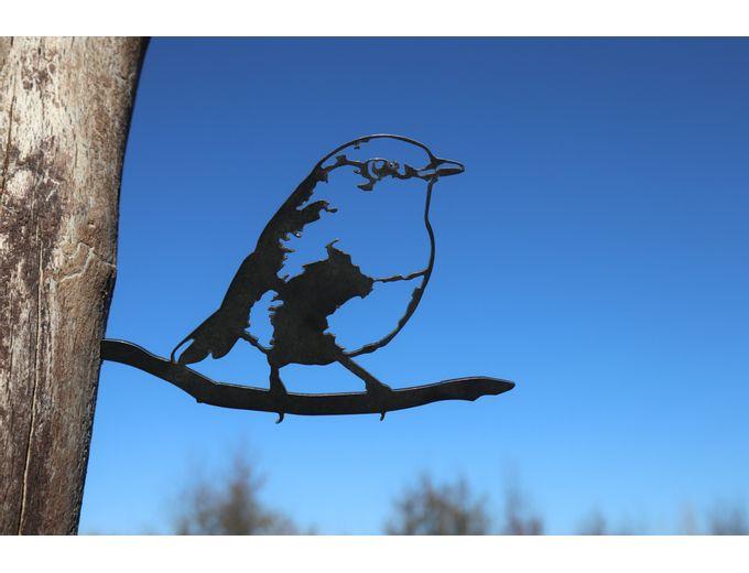 Afbeelding van Vogel Cortenstaal - Roodborst