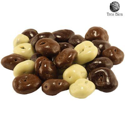 Foto van Chocolade mix rozijnen