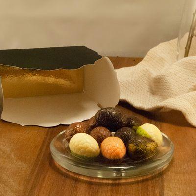 Foto van Luxe Chocolade Eitjes Gemengd - Trés Bien