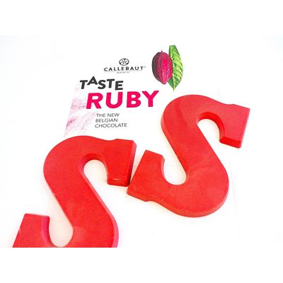 Chocoladeletter Ruby