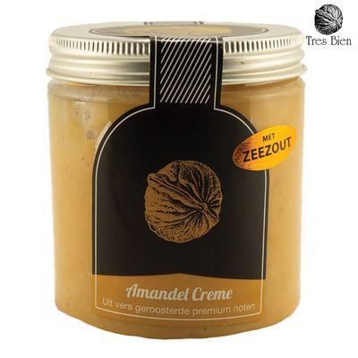 Amandel crème met zeezout