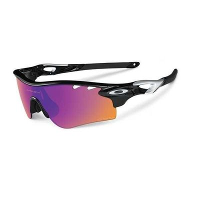 OAKLEY PRIZM™ TRAIL RADARLOCK™ Polished Black Prizm trail en Clear Vented
