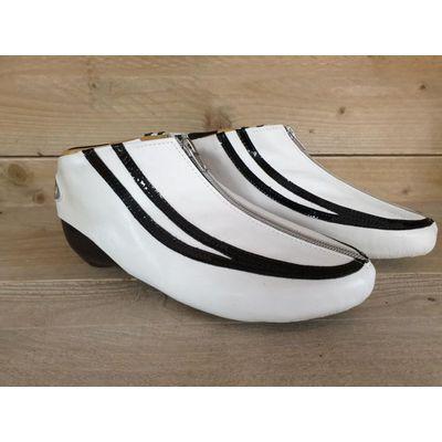 Groothuis Thermoplastische schoen G19 ( Zwart-Wit / Wit Zwart )