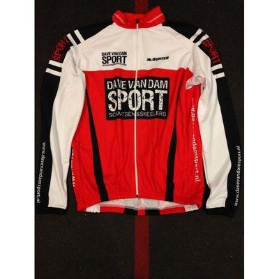 Dave van Dam Sport Schaats/ fiets jack