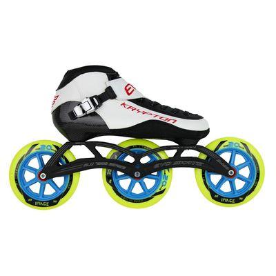 EVO Krypton Skate 3x125mm Zwart of Wit