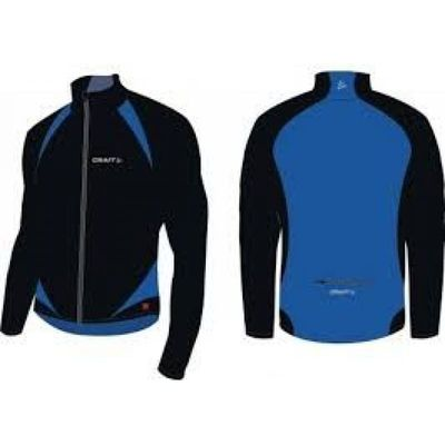 Craft Thermo schaatsjack Blauw zwart