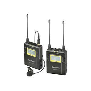 Foto van Saramonic Lavalier Microfoon Set UWMIC9 TX9 + RX9 UHF Draadloos