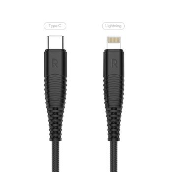 Foto van RAVPower Type-C to Lightning Kevlar Braided Cable