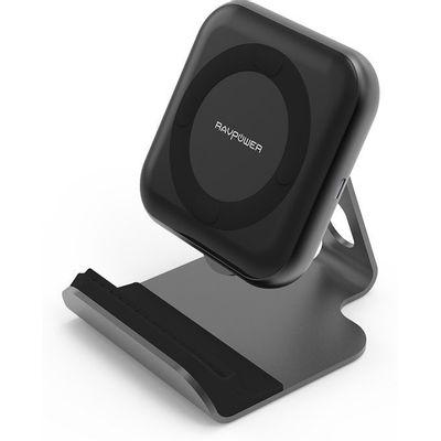 Afbeelding van RAVPower 10W Wireless Charger met RAVPower 24W oplader
