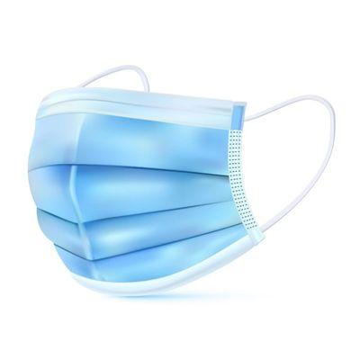 Afbeelding van Chirurgische masker 3-laags 50 stuks non medisch