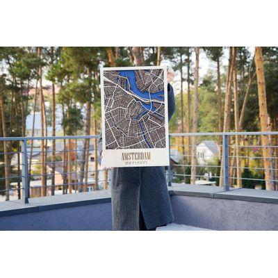 Afbeelding van 3D City Map Amsterdam L