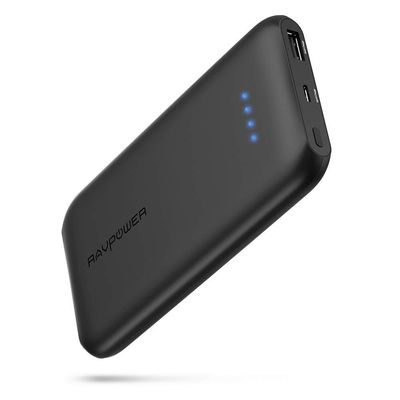 Foto van RAVPower Slim 10000mAh Power Bank with QC3.0