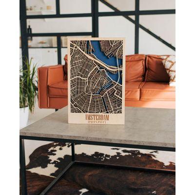 Afbeelding van 3D City Map Amsterdam M