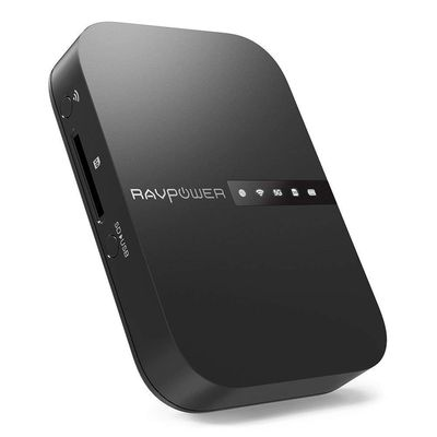 Afbeelding van RAVPower FileHub 2019 New Version AC750 Wireless Travel Router
