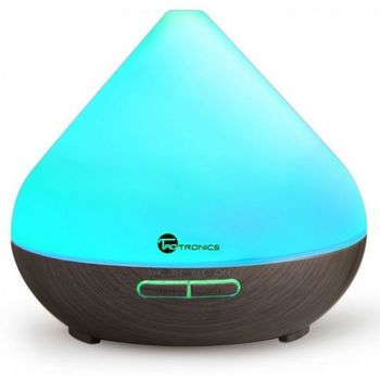Foto van Taotronics Wood Grain Zen Style Aroma Diffuser with Cool Mist and 7- Color LED