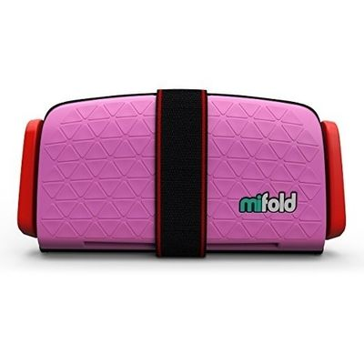 Afbeelding van mifold Grab-and-Go Booster Seat (Perfect Pink)