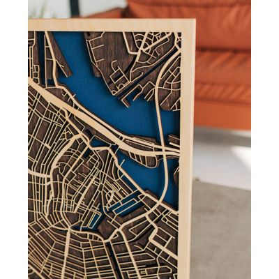 Afbeelding van 3D City Map Amsterdam XL