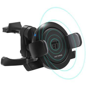Foto van TaoTronics Fast Charge Draadloos telefoonhouder En Oplader