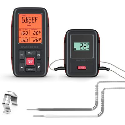 Foto van Inkbird IRF-2SA Slimme Draadloze 150M Vleesthermometer met LCD