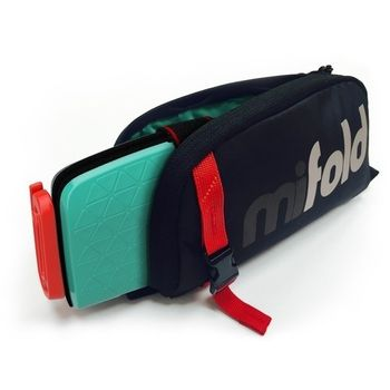 Foto van Mifold The Grab and go Booster Designer Carry bag