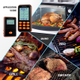 Afbeelding van Inkbird IRF-4S Slimme Draadloze Vleesthermometer met LCD