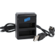 Afbeelding van Brofish Dual Battery Charger Kit For HERO4