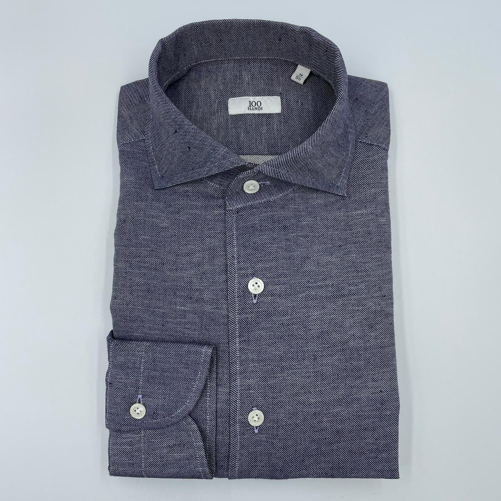 Foto van 100 Hands Shirt Mid Blue