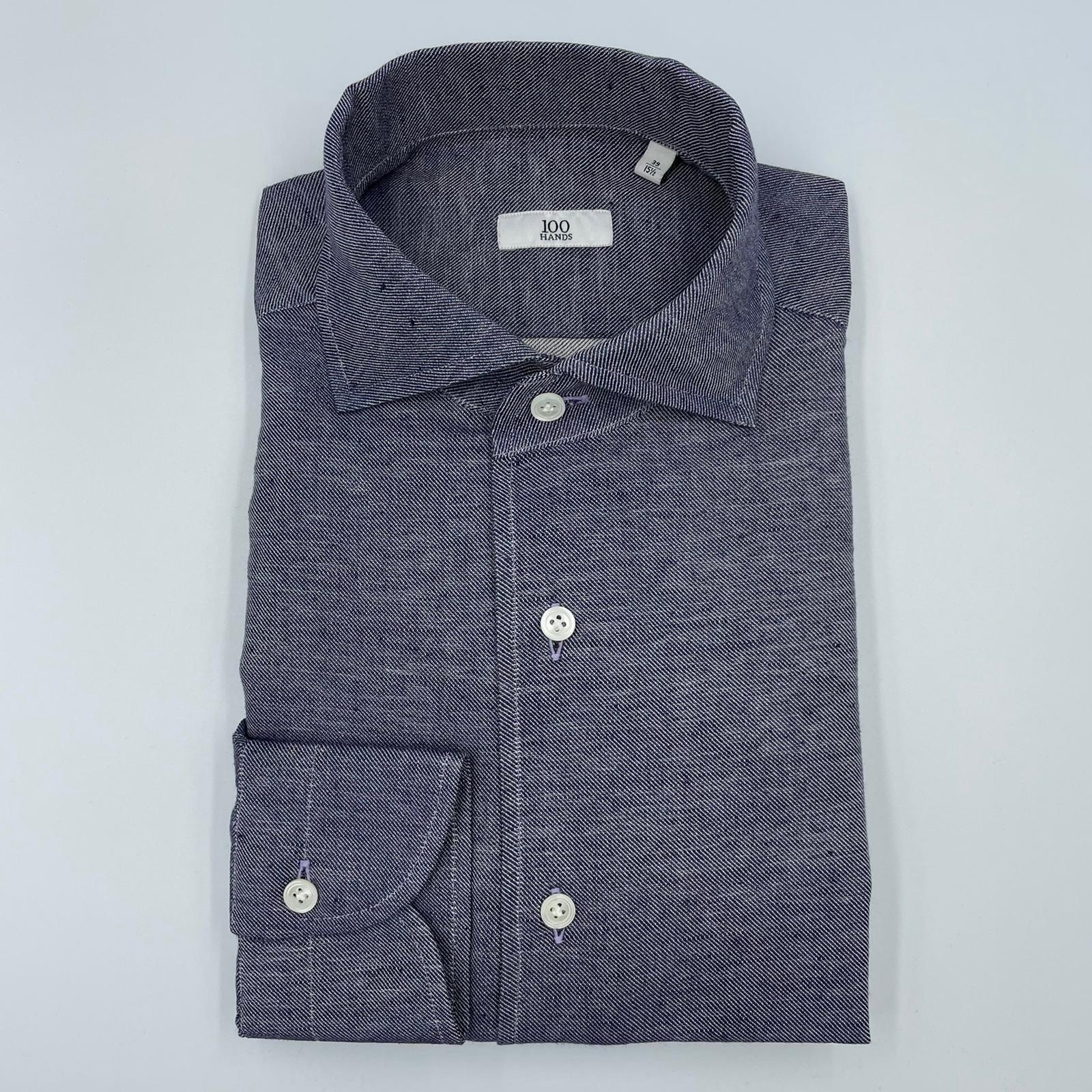 100 Hands Shirt Mid Blue