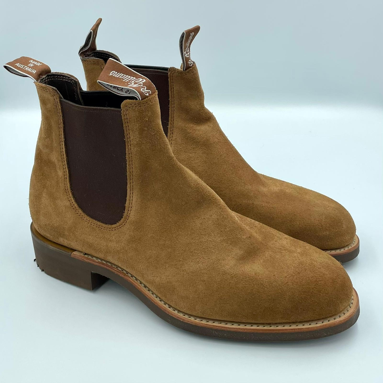 Foto van R.M.Williams Gardener Congac Suede