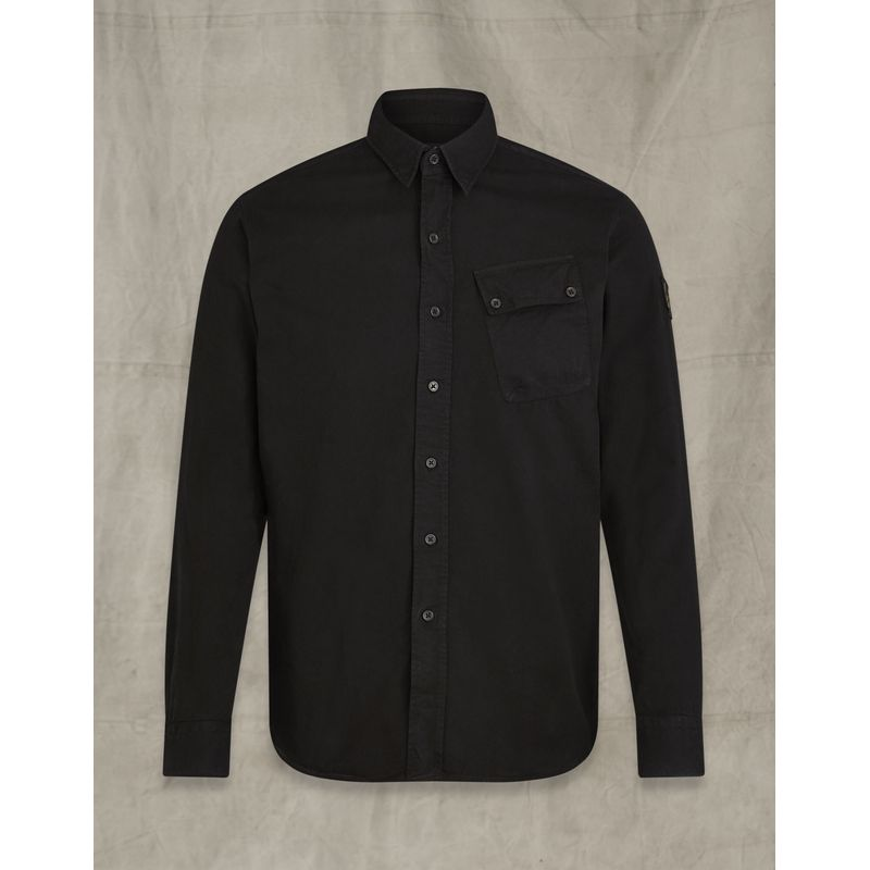 Belstaff Pitch twill shirt Black