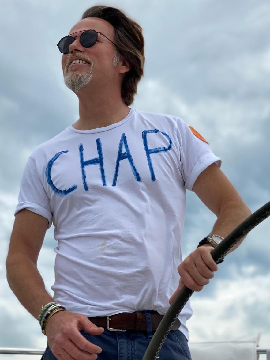 Foto van Chapal Chap T-shirt Wit