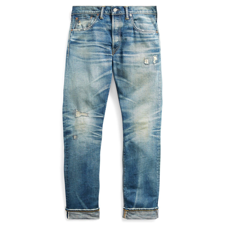 Ralph Lauren RRL Slim Fit Selvedge Jeans