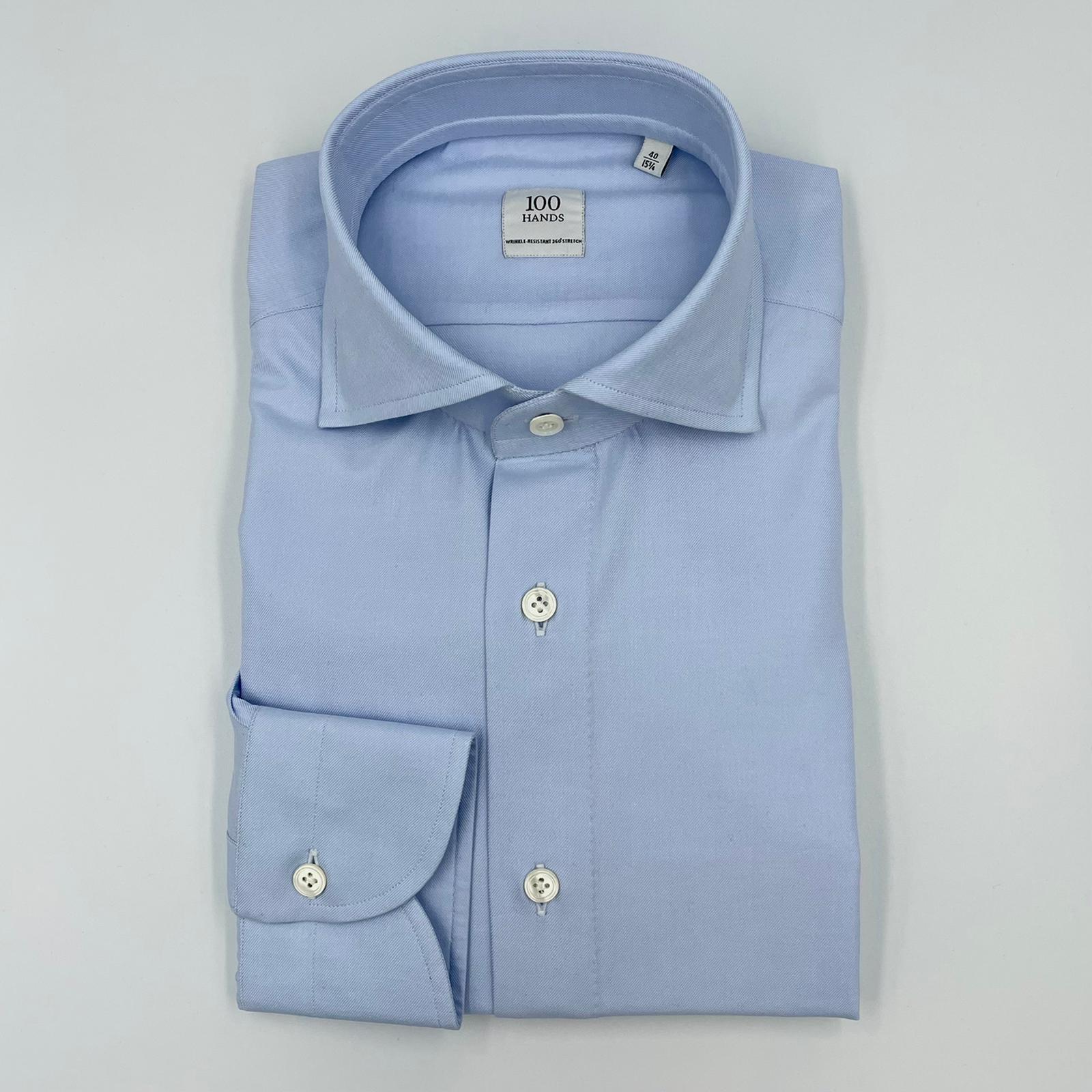 Foto van 100 Hands Shirt Lt Blue