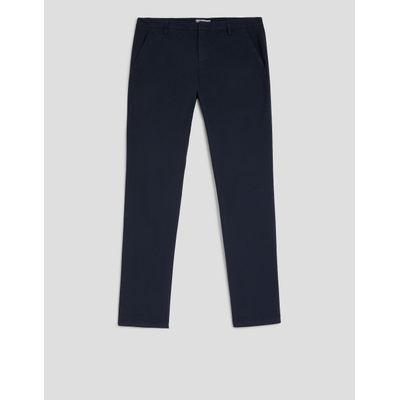 Foto van Dondup Gaubert slim-fit Poplin Trousers Navy
