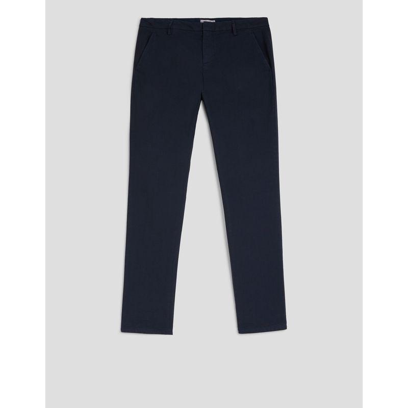 Dondup Gaubert slim-fit Poplin Trousers Navy